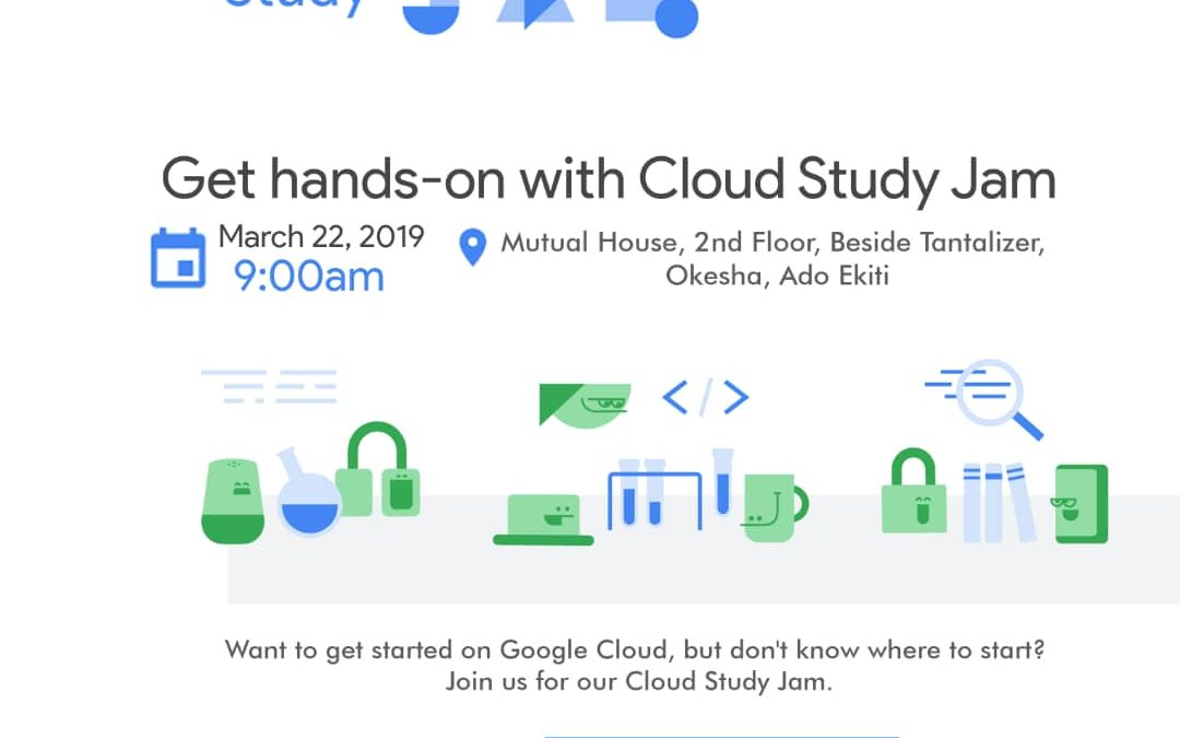 Register to be Part of Cloud Study Jam Ekiti This March