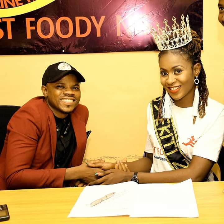 JustFoody and Miss Ekiti