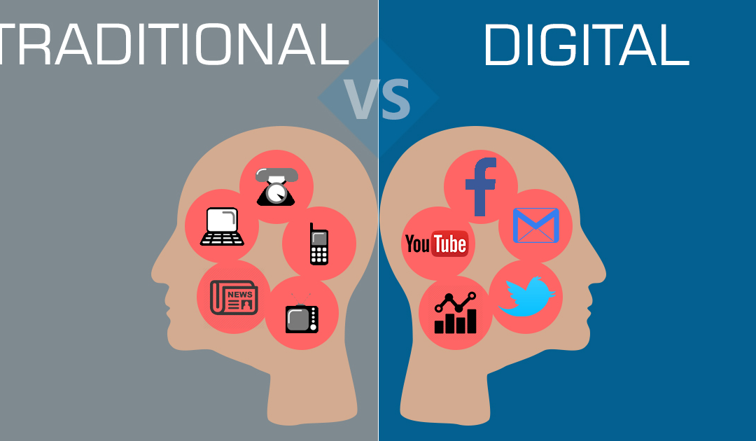 Differences Between Digital Marketing and Traditional Marketing