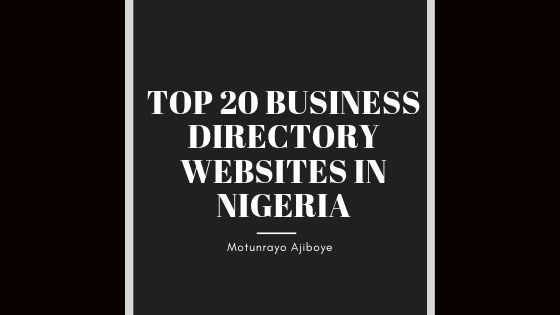 Top 20 business directory websites in Nigeria