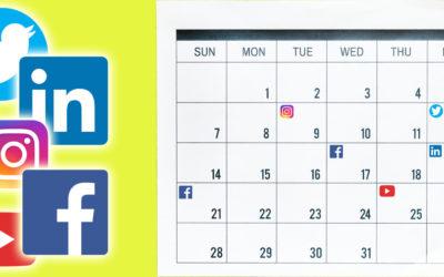 How To Write A Social Media Content Calendar