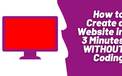 How to Create a Website in 3 Minutes Without Coding
