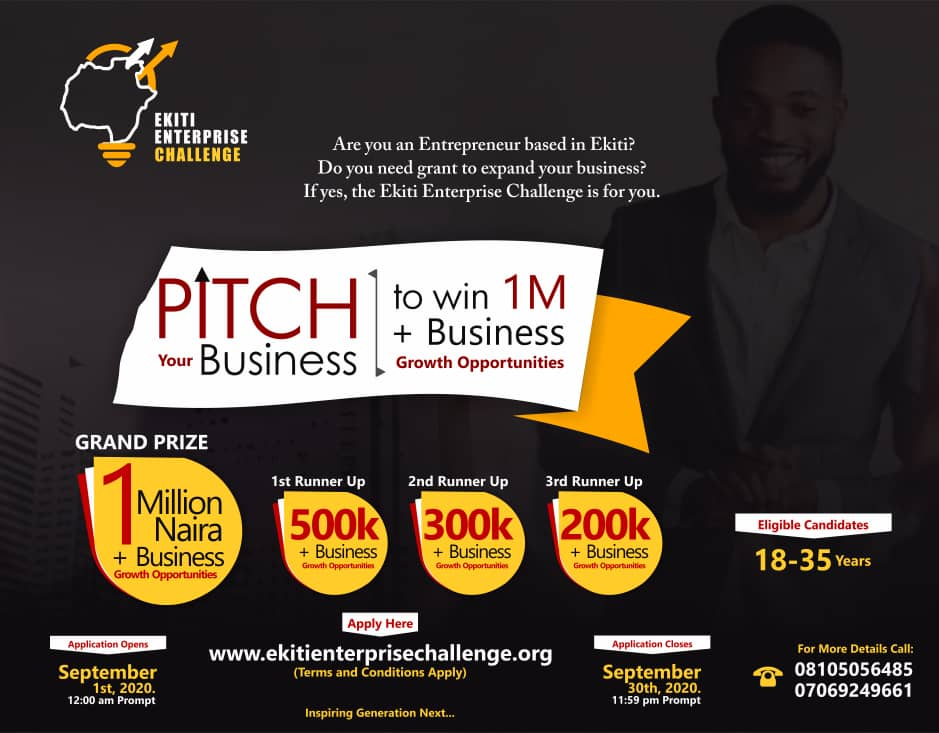 ekiti enterprise challenge one million