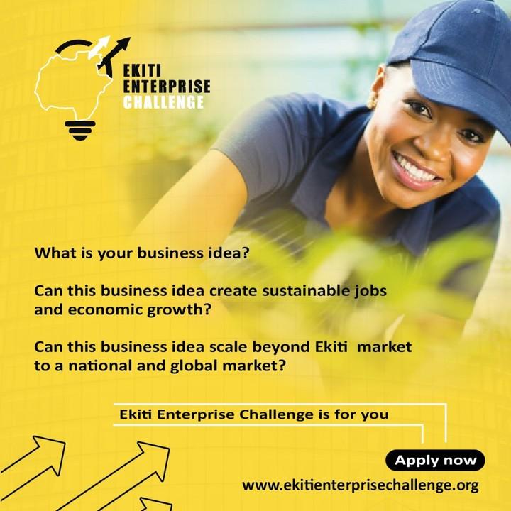 Ekiti enterprise challenge