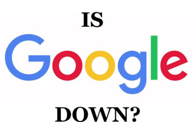 Is Google Down in Your Area too?
