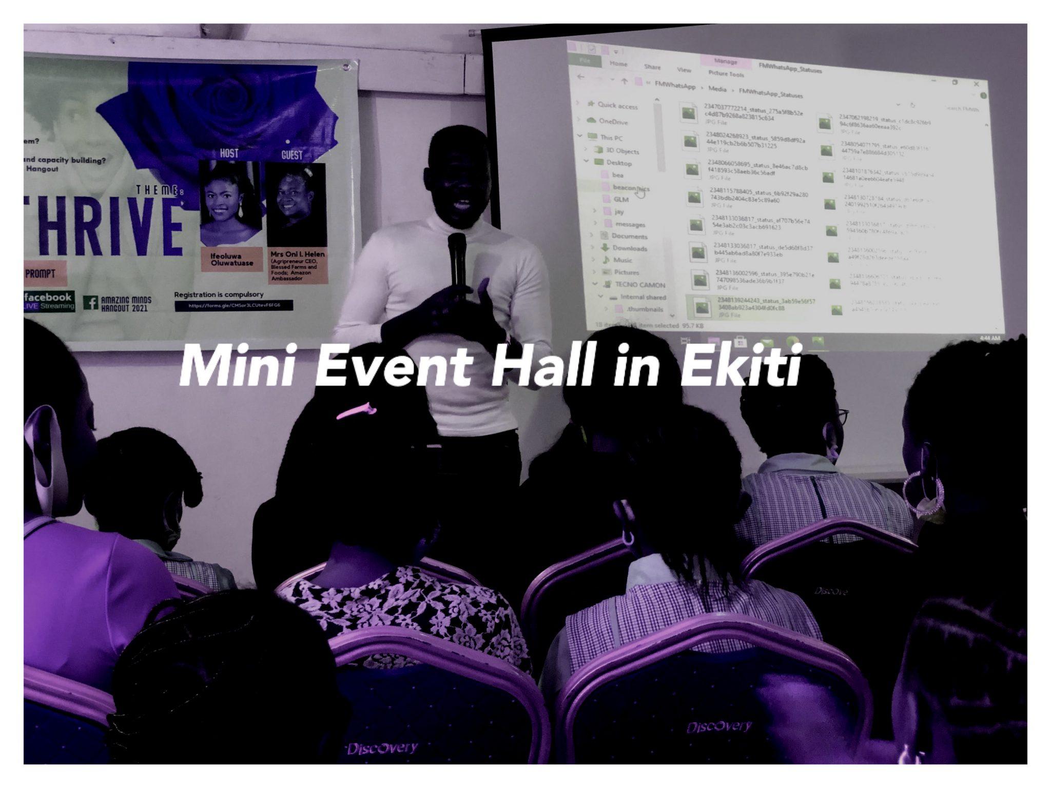 mini event hall in ekiti